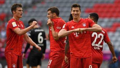Bayern Münih - Mönchengladbach: 6-0   MAÇ SONUCU ÖZET