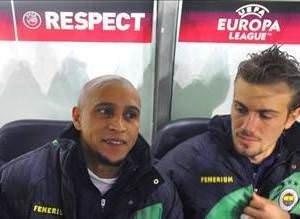 Roberto Carlosu böyle uğurladılar