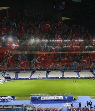 Paris emniyeti Fransa-Türkiye maçı öncesi rakamları açıkladı