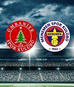 Ümraniyespor-Menemenspor maçı saat kaçta? Hangi kanalda?