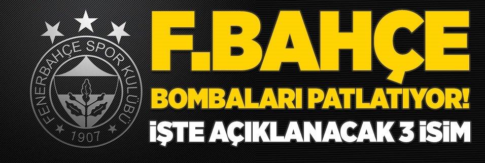 Fenerbahçe transfer bombalarını patlatıyor! İşte açıklanacak üç isim