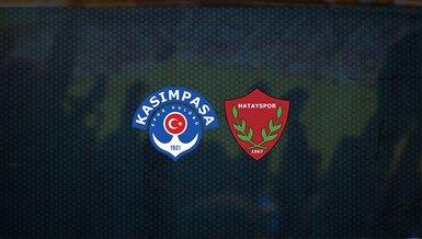 Kasımpaşa - Hatayspor maçı ne zaman, saat kaçta ve hangi kanalda canlı yayınlanacak? | Süper Lig
