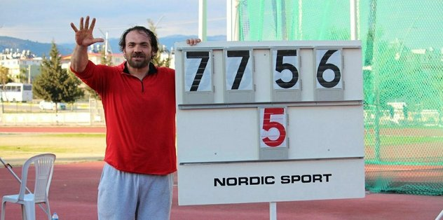 Eşref Apak 5. kez Olimpiyat Oyunları'nda