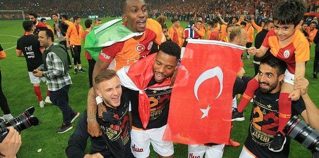 Galatasaray'ın şampiyonluğu Avrupa'da yankılandı
