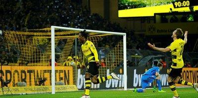 Batshuayi, Dortmund'u sırtladı