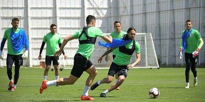 Atiker Konyaspor'da Trabzonspor maçı hazırlıkları başladı