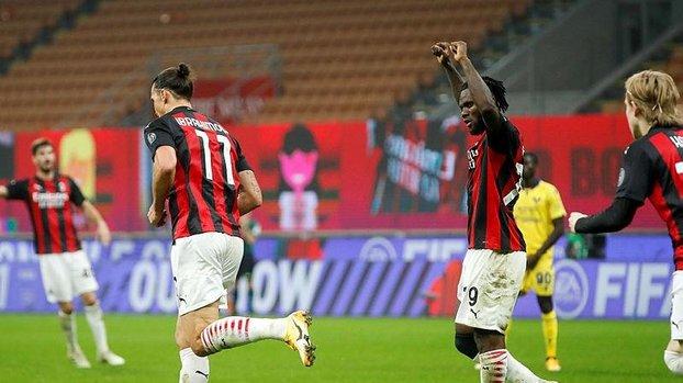Milan puanı uzatmalarda kurtardı   Milan Hellas Verona: 2-2 (MAÇ SONUCU - ÖZET) #