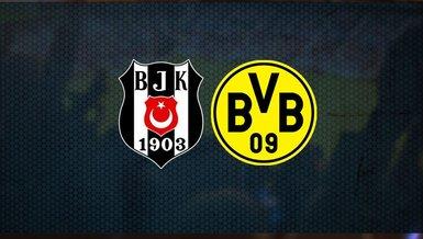 Beşiktaş Dortmund maçında ilk 11'ler belli oldu! | UEFA Şampiyonlar Ligi