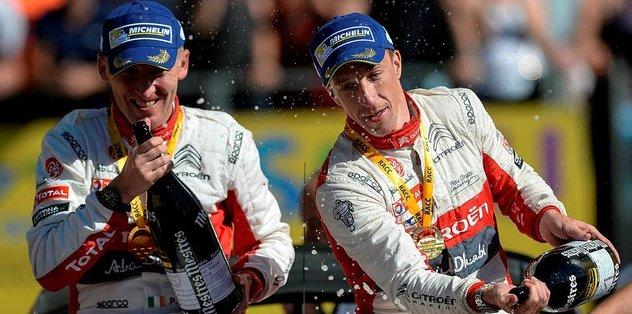 İspanya Rallisi'ni Meeke kazandı