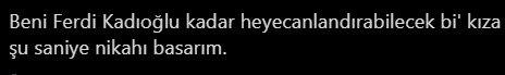 Fenerbahçe taraftarından Ersun Yanal'a Ferdi Kadıoğlu mesajı!