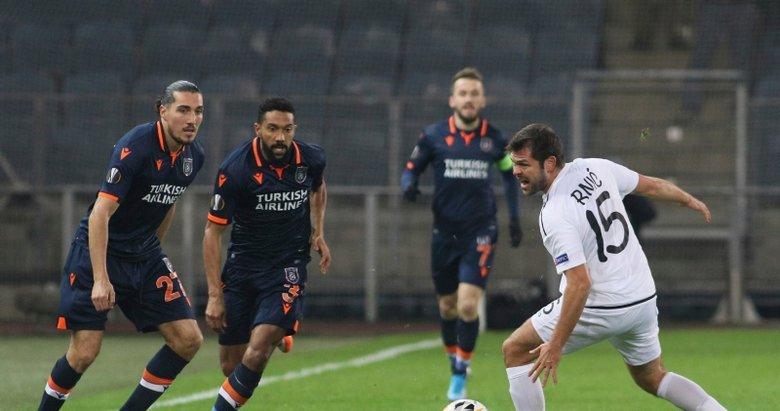 Wolfsberger - Medipol Başakşehir maçından kareler