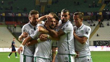 Konyaspor - Başakşehir: 2-1 (MAÇ SONUCU - ÖZET)