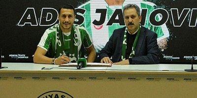 Adis Jahovic, Konyaspor'a imzayı attı
