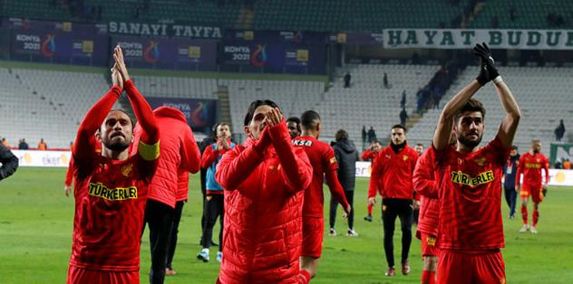 Konyaspor 1-3 Göztepe | MAÇ SONUCU