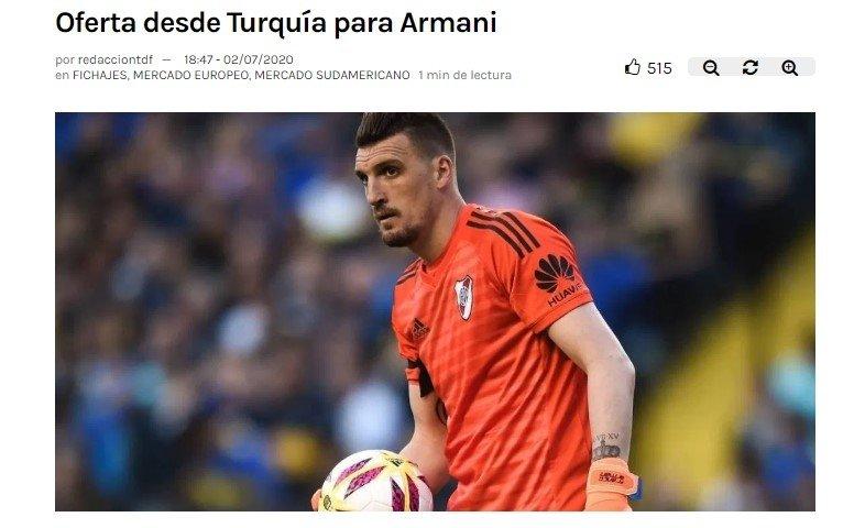 besiktastan beklenen transfer hamlesi geldi armani 1593783059143 - Beşiktaş'tan beklenen transfer hamlesi geldi! Armani...