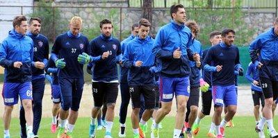 Karabükspor'da Osmanlıspor maçı hazırlıkları sürüyor