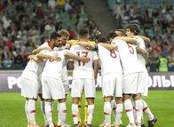 Rusya - Türkiye maçından kareler