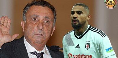 Beşiktaş Başkanı Çebi böyle sinirlendi! Boateng ve corona virüs...