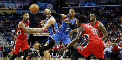 Thunder'ı yine Westbrook uçurdu