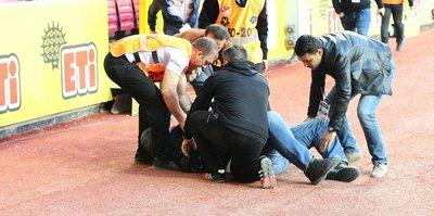 Eskişehirspor yöneticisi maç sırasında kalp krizi geçirdi!