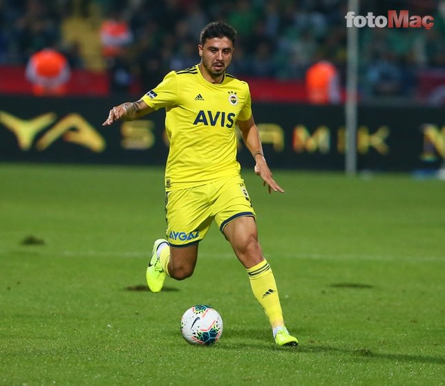 Fenerbahçe maçında şok görüntü! Ozan Tufan...