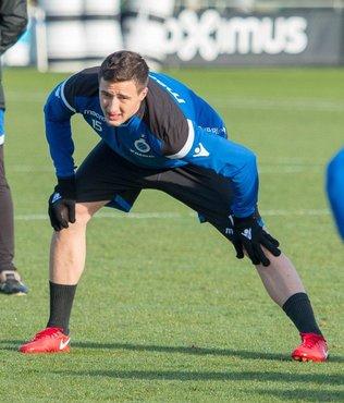 Club Brugge Beşiktaşlı Mitrovic'in transferini duyurdu!