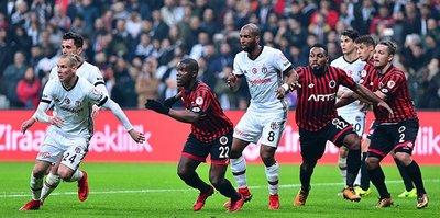 Beşiktaş ile Gençlerbirliği 90. randevuda