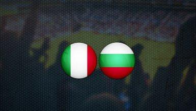 İtalya - Bulgaristan maçı ne zaman? Saat kaçta ve hangi kanalda canlı yayınlanacak?   Dünya Kupası Elemeleri