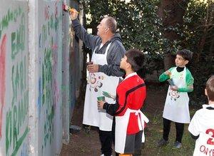 Florya'da 23 Nisan coşkusu! Fatih Terim duvara ne yazdı?