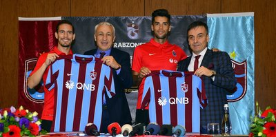 Pereira ve Mas imzaladı