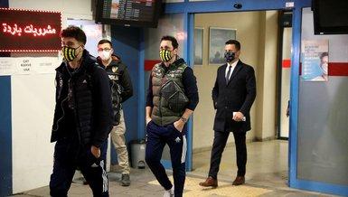 Son dakika spor haberleri: Fenerbahçe kafilesi Trabzon'a geldi