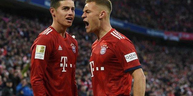 Bayern Münih averajla liderlik koltuğuna oturdu