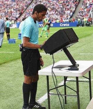 VAR to be used in top UEFA event