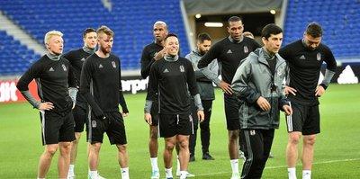 Beşiktaş, Lyon hazırlıklarını tamamladı