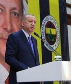Başkan Erdoğan'dan çok önemli açıklamalar! Stadyum müjdesi...