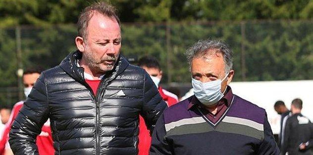 Başkan Ahmet Nur Çebi Beşiktaş antrenmanını ziyaret etti - Futbol -