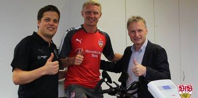Andreas Beck Stuttgart'la 2 yıllık sözleşme imzaladı
