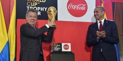 """""""FIFA Dünya Kupası"""" Kolombiya'da sergileniyor"""