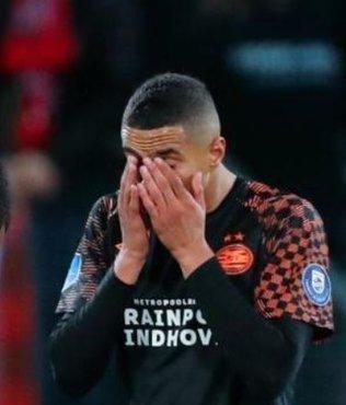 Utrecht-PSV maçında duygusal an! Gözyaşlarını tutamadı