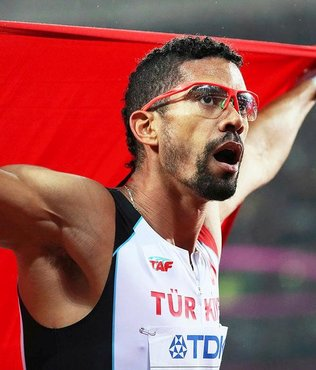 Milli atlet Copello, erkekler 400 metre engellide ikinci oldu