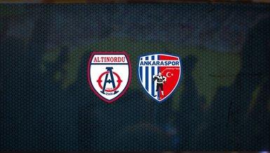 Altınordu - Ankaraspor maçı ne zaman? Saat kaçta? Hangi kanalda canlı yayınlanacak? Şifresiz mi?
