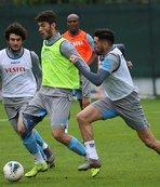 Trabzonspor Göztepe maçına hazır