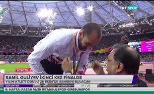 Ramil Guliyev ikinci kez finalde