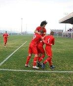 U16 milli turnuva başladı