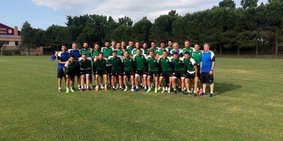 Sakaryaspor yeni sezon hazırlıklarına başladı