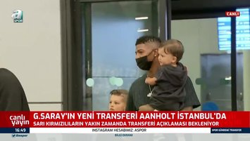 G.Saray'ın yeni transferi İstanbul'da! İşte ilk görüntüler