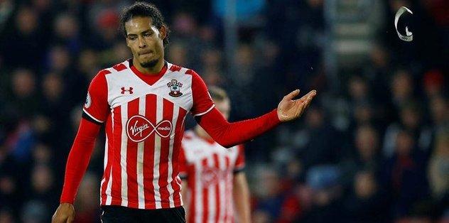 Liverpool'un Van Dijk ısrarı Southampton'ı kızdırdı