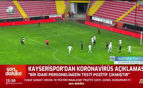 Mustafa Tokgöz: İdari personelimizin durumu iyi
