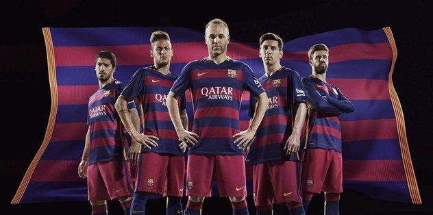 Barcelona forması yasaklandı