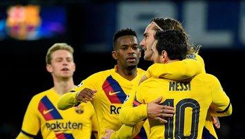 Barcelona İtalya'da avantajı kaptı